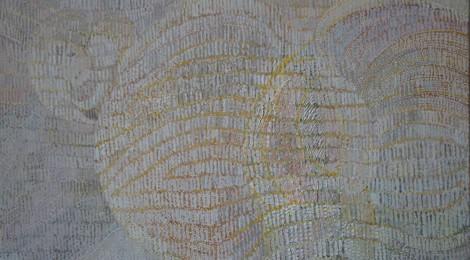 Titel: 'Droom van Bloei' olieverf op linnen 110 bij 80 cm Prijs: € 1.250,00