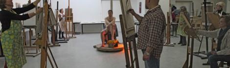 3 daagse workshop modelschilderen januari 2014