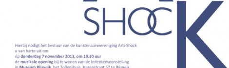 Deelname ledententoonstelling Arti-Shock
