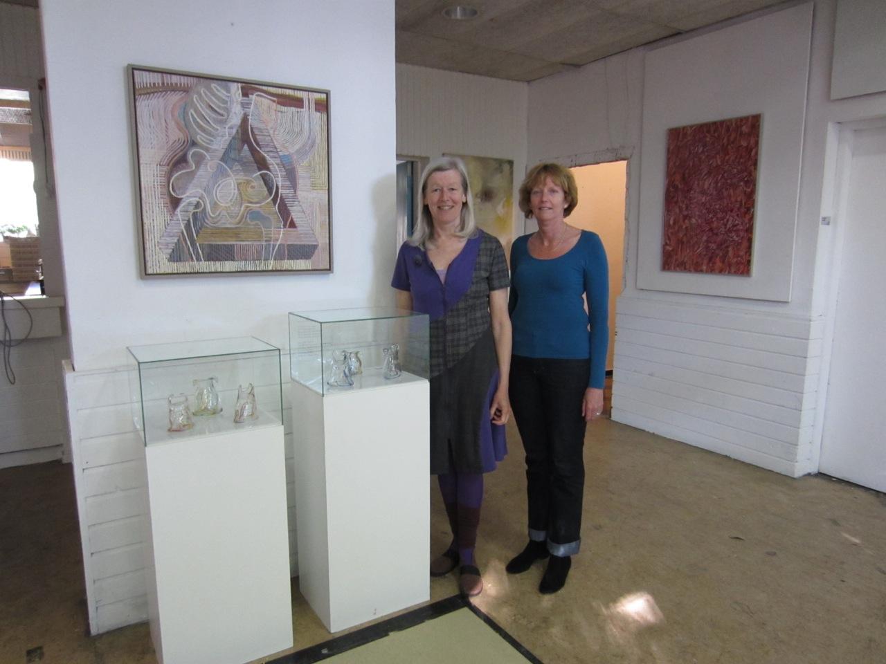Annelien van Kempen glas en Martie van Essen proza