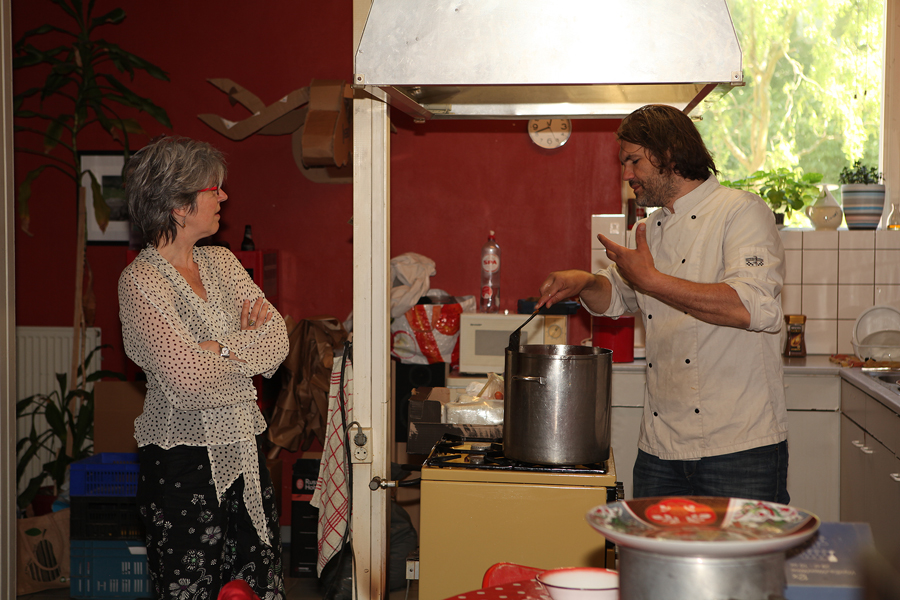 Michel Caes - Ecorevolte in de keuken van Op de Vulkaan