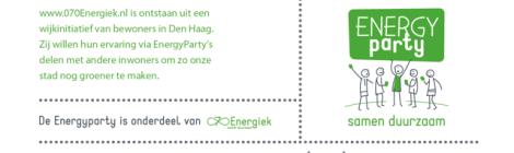 EnergyParty op de Verlichting 13 APRIL