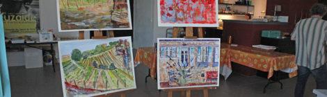 Schilderen en fotograferen in Frankrijk