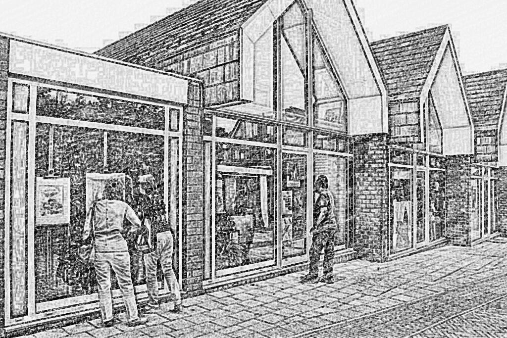 tekening Torenstraat