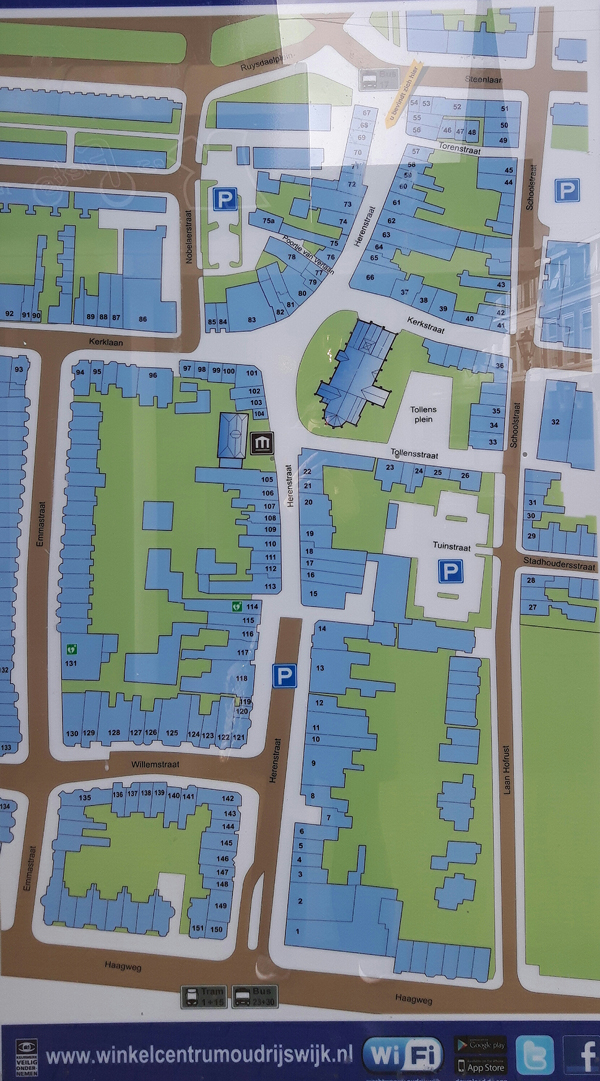 kaart oud Rijswijk web
