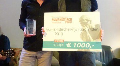 Genomineerd voor de Uitreiking Humanistische Prijs Haaglanden